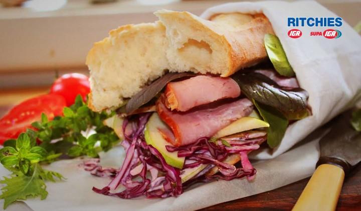 The Ultimate Ham Baquette