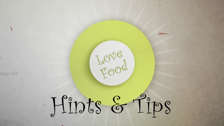 hints and tips - saving the Béarnaise sauce