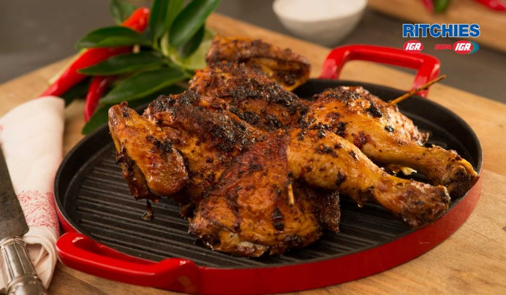 Piri piri butterfly chicken