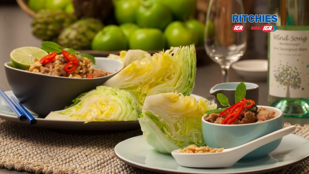 Thai style Larb Moo