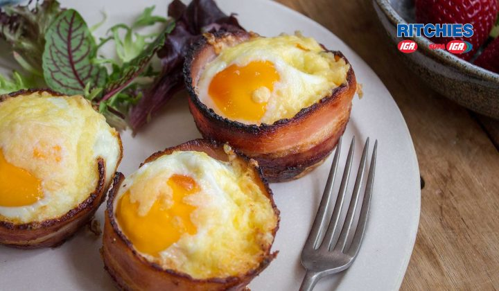 bacon egg chorizo muffin cups