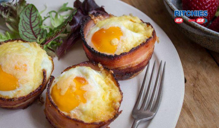 bacon egg chorizo muffin cups