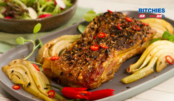 chilli fennel pork belly
