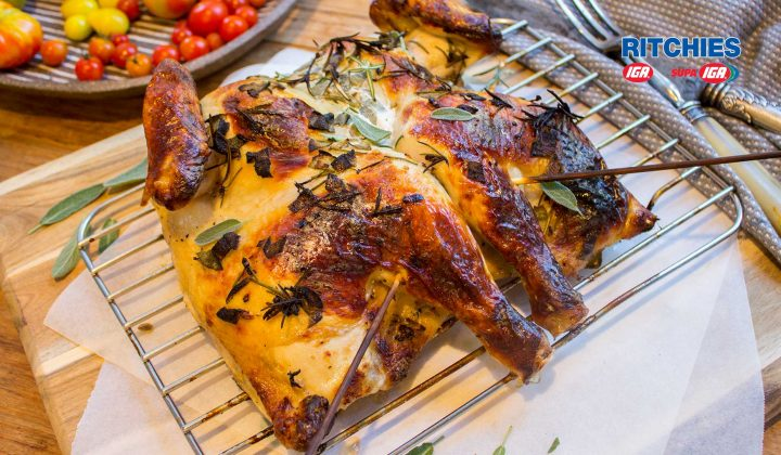 buttermilk herb roast chicken