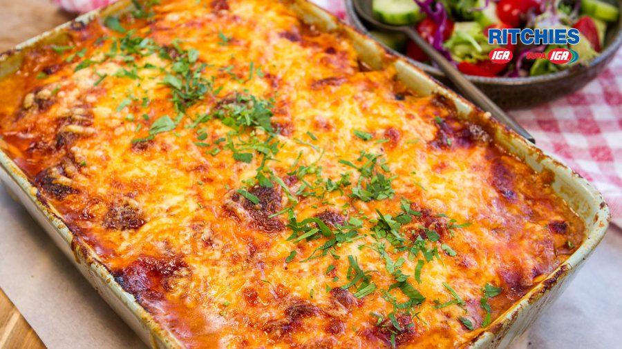 beef sweet potato zucchini lasagna