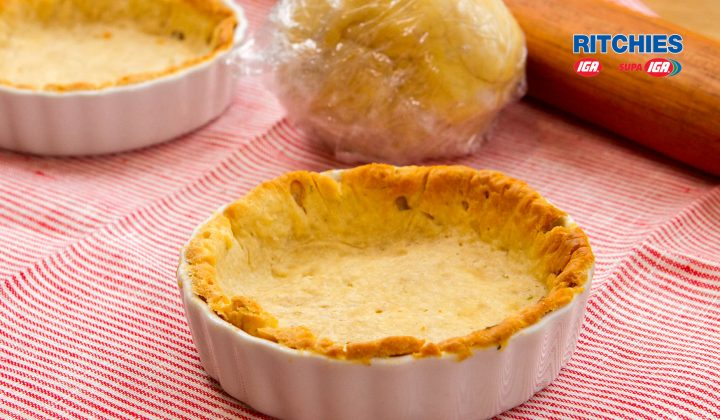 Gluten free shortcrust pastry