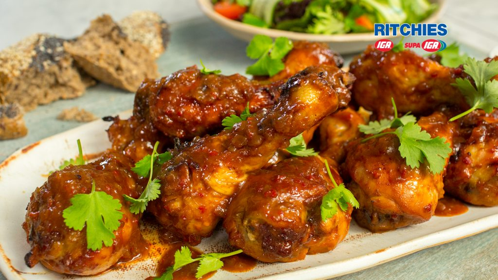 spicy chicken drumsticks