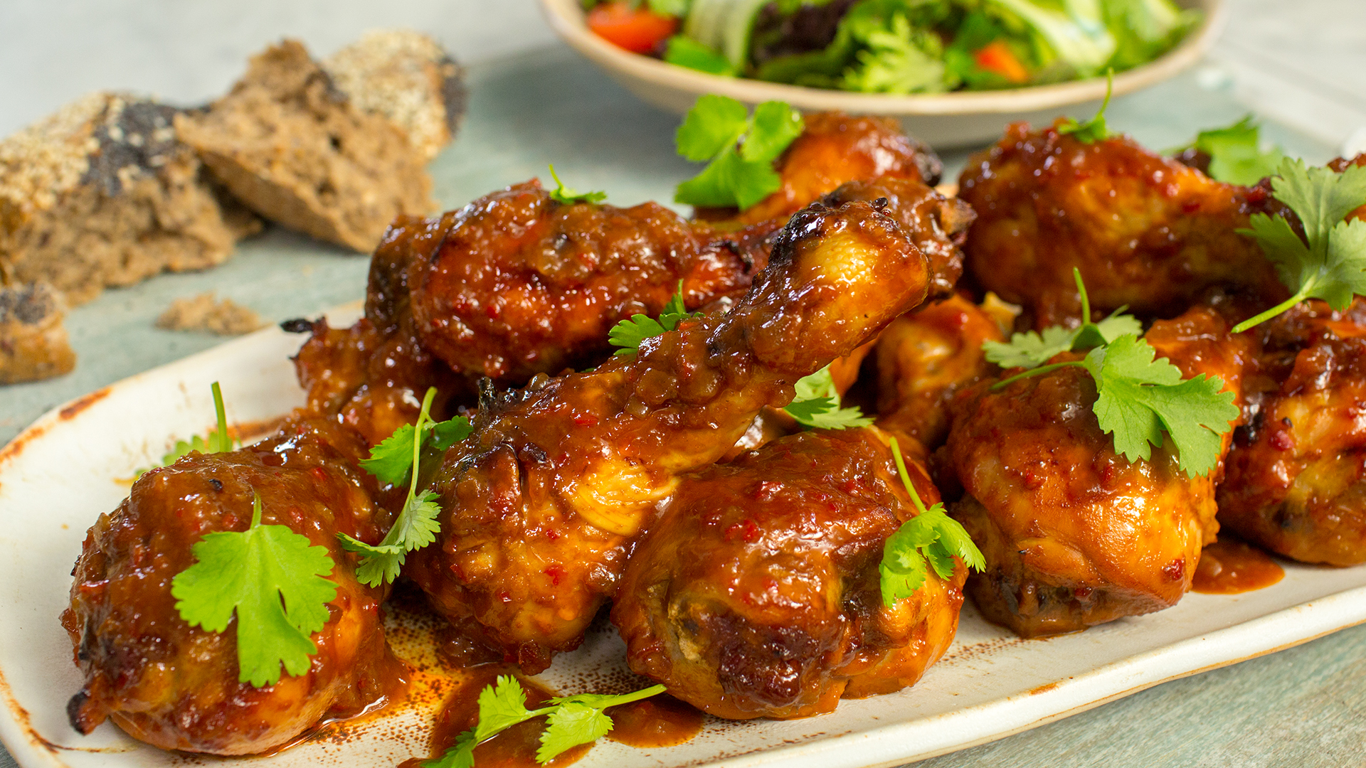 spicy chicken drumsticks - Love Food