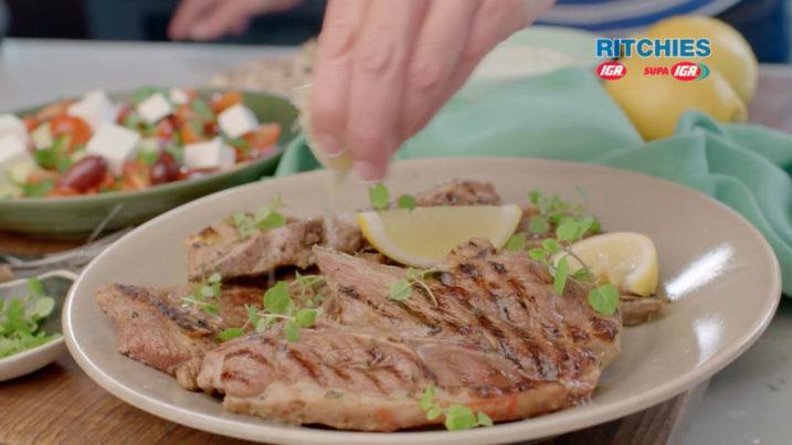 Greek Style BBQ Lamb Chops